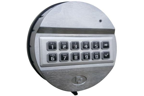 Elektronisch codeslot Pulse 2 op afstortlade (in plaats van sleutelslot)