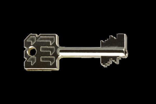 Extra dubbelbaard sleutel