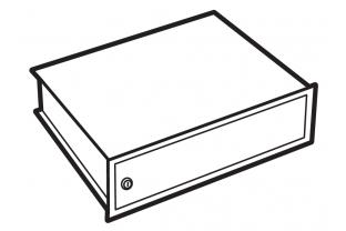 Lips Brandkasten afsluitbaar binnenvak voor modellen DPC 160, 240, 320 en 400T | KluisShop